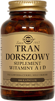 Tran dorszowy suplement witaminy A i D